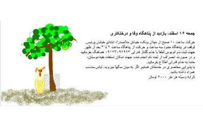درختکاری – 16 اسفند 1392
